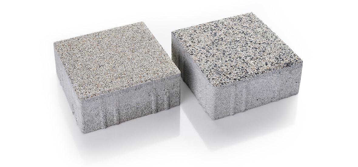 Oberflächenveredelung für Betonpflaster